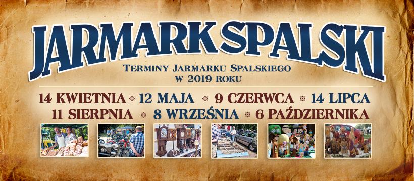 Terminy Jarmarku Spalskiego w 2019 roku.