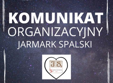 Komunikat organizacyjny