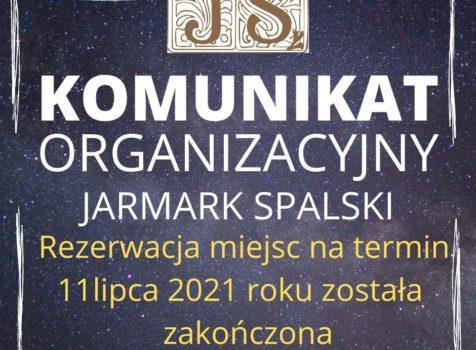 Rezerwacja miejsc 11 lipca 2021 r zakończona.